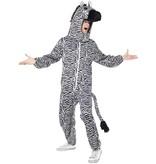 Zebra verkleedpak