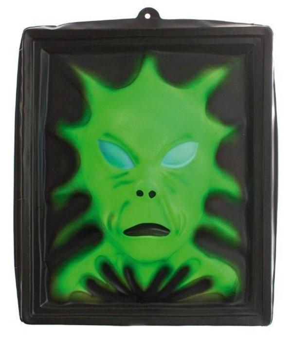 Plastic halloween schilderij - Decoratie schilderij gang ...