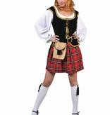 Highlander Hottie verkleedkostuum 6-delig