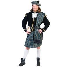 Schots verkleedpak tartan man