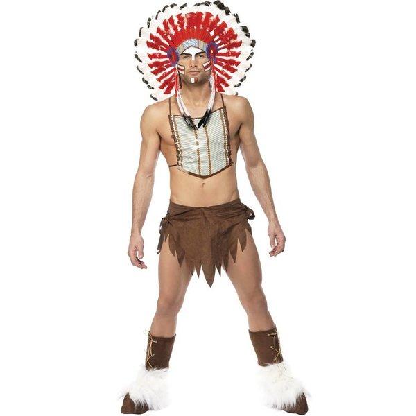 Village People Indiaan kostuum