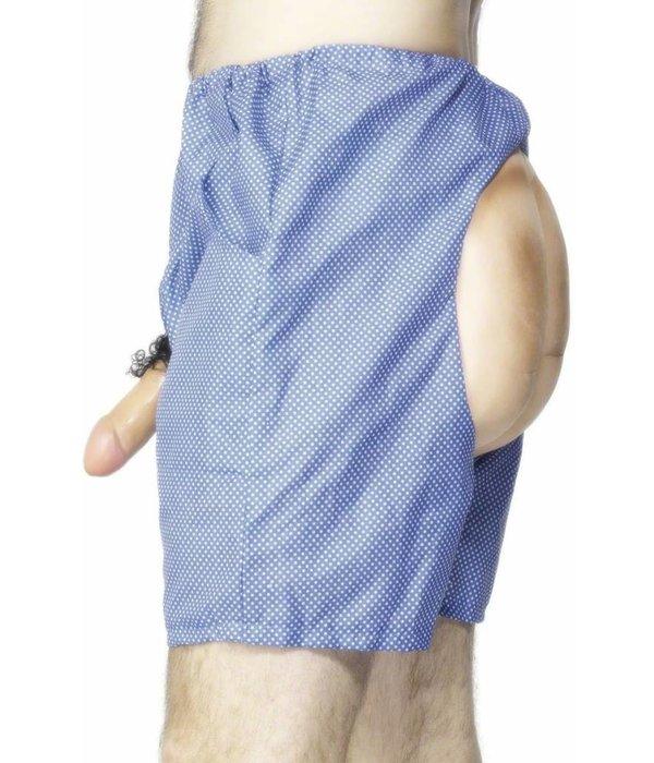 Bum en Willy Korte broek blauw