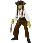 Enge Horror Piratenkostuum jongens