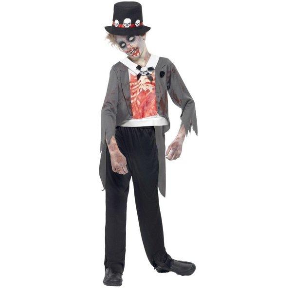 Zombie Bruid kostuum kind