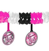 Sweet 16 slinger met onderhanger