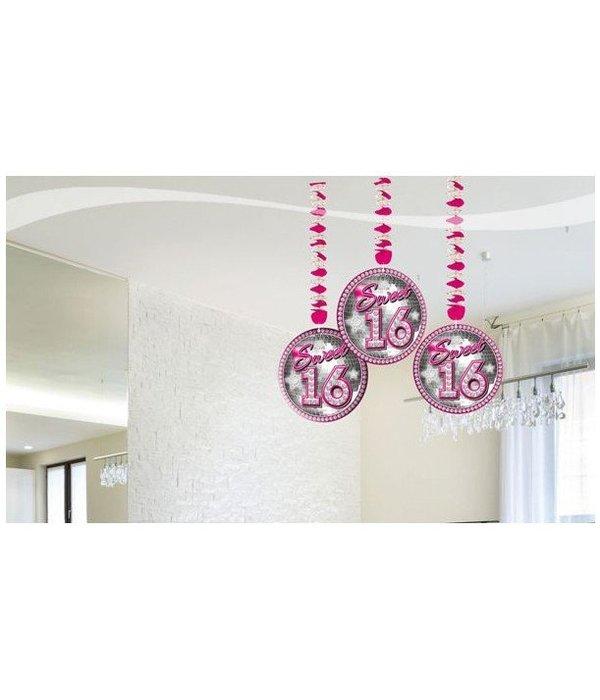 Hangdecoratie Swirl Sweet 16