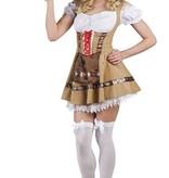 Alphine girl kostuum Luxe