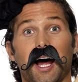 Franse snor zwart