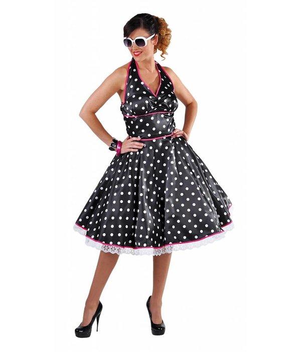 Jaren 50 jurk met halterneck