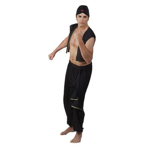 Sultan kostuum Jabril budget