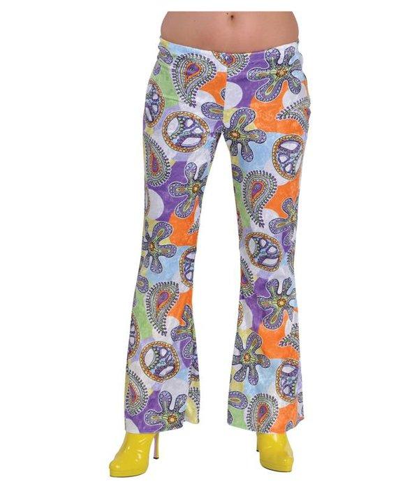 Hippie broek vrouw 70's cool