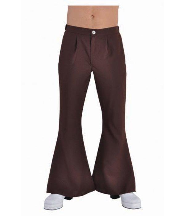 Hippie broek man bruin