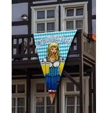 Grote vlag Oktoberfest 100x150cm