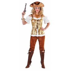 Piratendame kleding elite