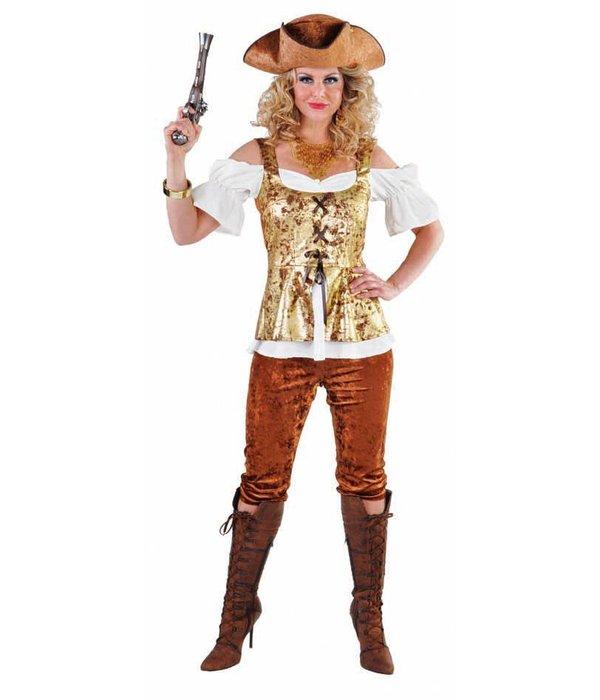 Piratendame kleding elite