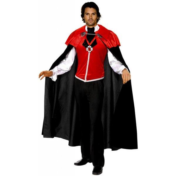 Gothic vampier kostuum