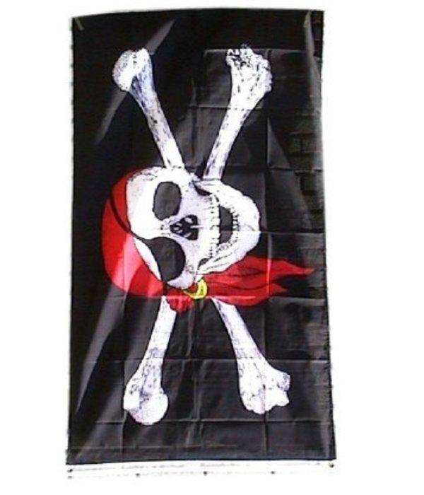 Vlag Piraten 90x150cm