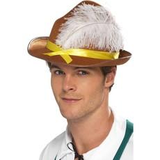 Tiroler hoed met veer