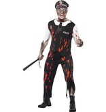 Zombie Politieagent kostuum