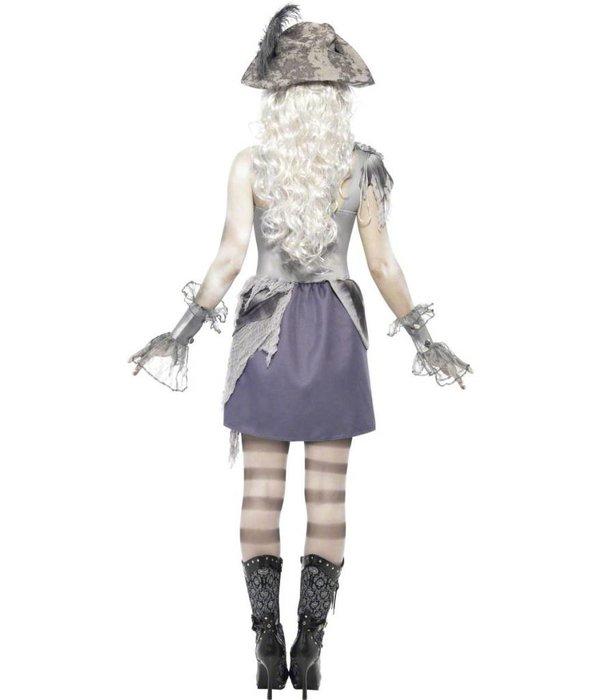 Piratenvrouw Geest kostuum