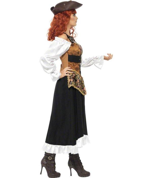 Steampunk Pirate Wench kostuum