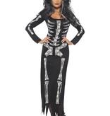 Skelet Diva jurk
