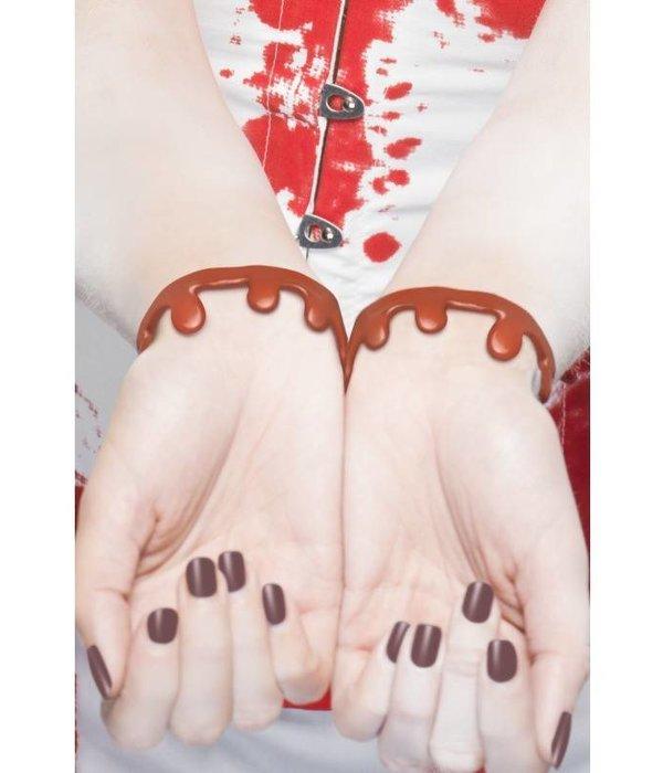 Bloed druipende armband