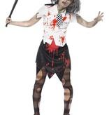 Zombie Politieagente outfit