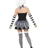 Enge Pierrot kostuum