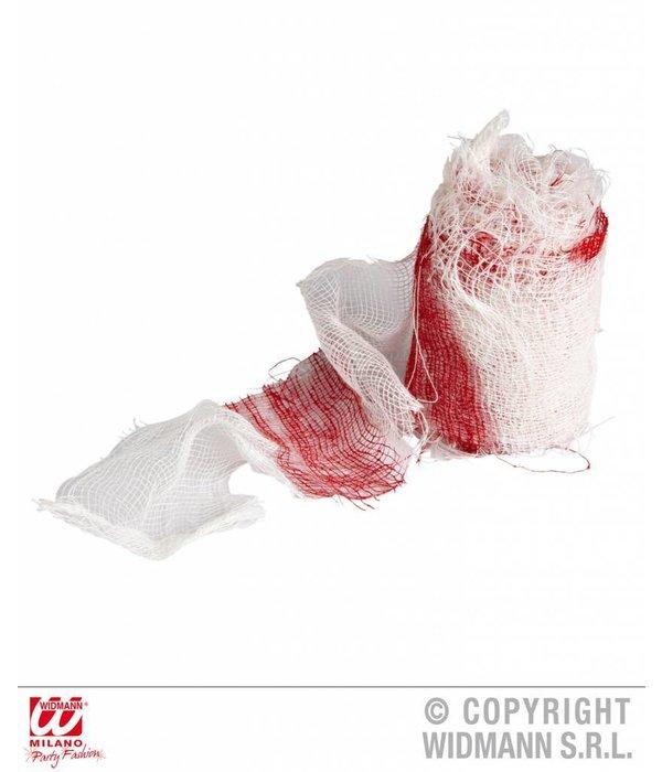 Bandage met bloed 6.8m