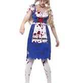 Zombie Bavaria kostuum vrouw