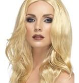 Superstar pruik lang blond