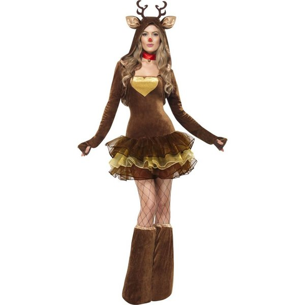 Sexy Fever Rendier kostuum