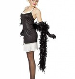 Charleston jurkje zwart/wit