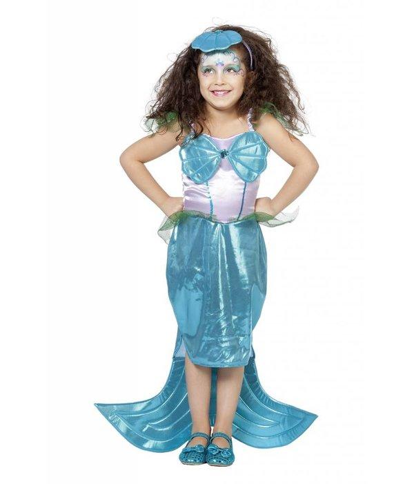 Zeemeermin jurkje met diadeem
