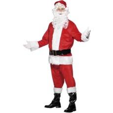 Kerstmanpak klassiek deluxe