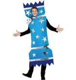 Kerstmis Cracker kostuum man