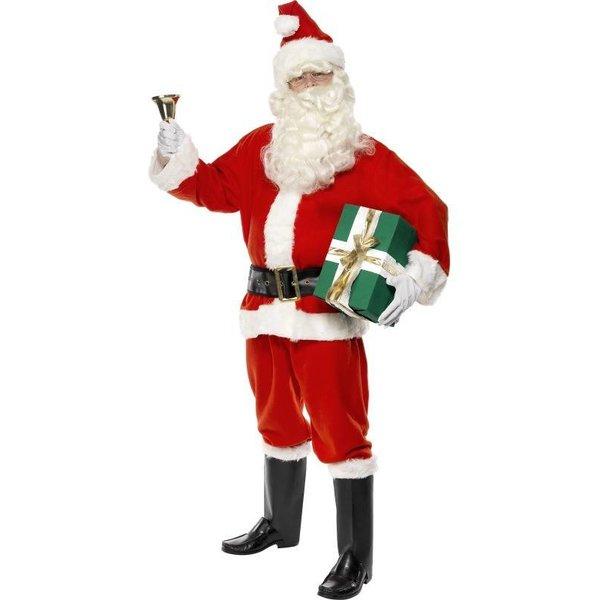 Kerstmannenpak volwassen