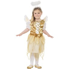 Egeltje kostuum goud