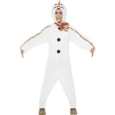 Sneeuwpop pak kind