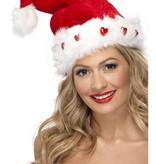 Kerstman hoed light up