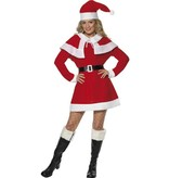 Miss Santa kostuum fleece