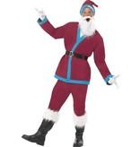 Kerstman supporter kostuum