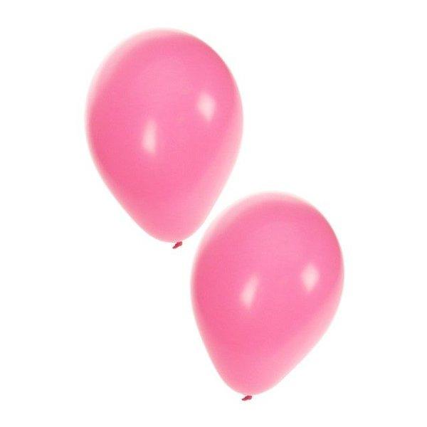 Ballonnen baby roze 50 stuks