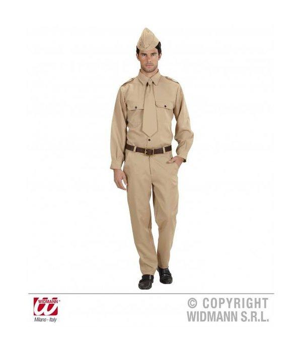 Soldaat 2e wereldoorlog kostuum