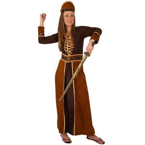 Kostuum krijger vrouw