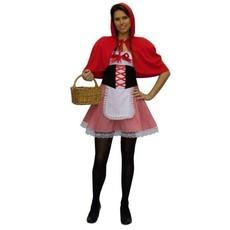 Kostuum Roodkapje Carnaval