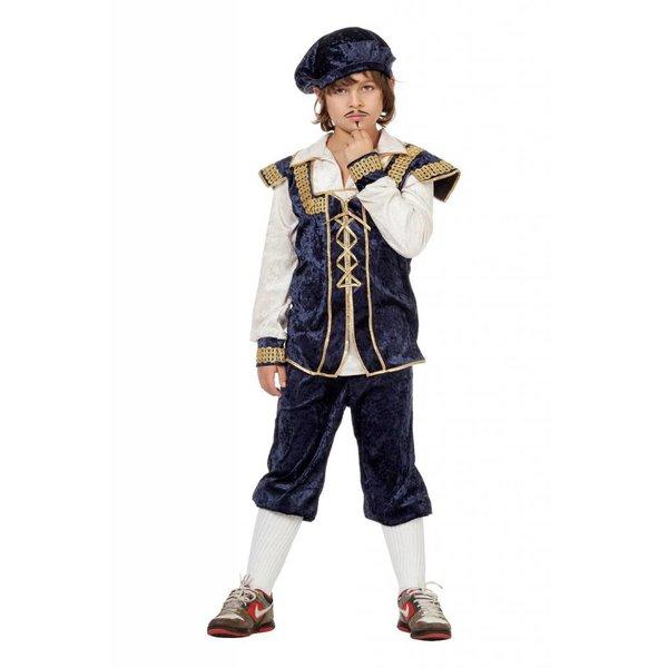 Burchtjongen kostuum