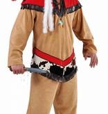 Indianen carnavalspak man