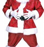 Glitter Santa Kerstman pak